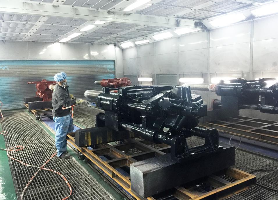 四川机械喷漆设备